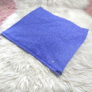 Lululemon Athletica Infinity Scarf Blue Purple